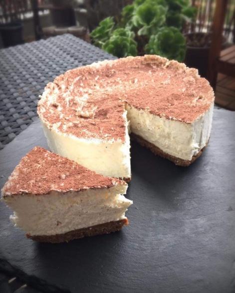 Recette de Cheesecake Coco Spéculos au Thermomix